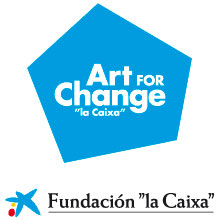 Logo Art of Change - La Caixa