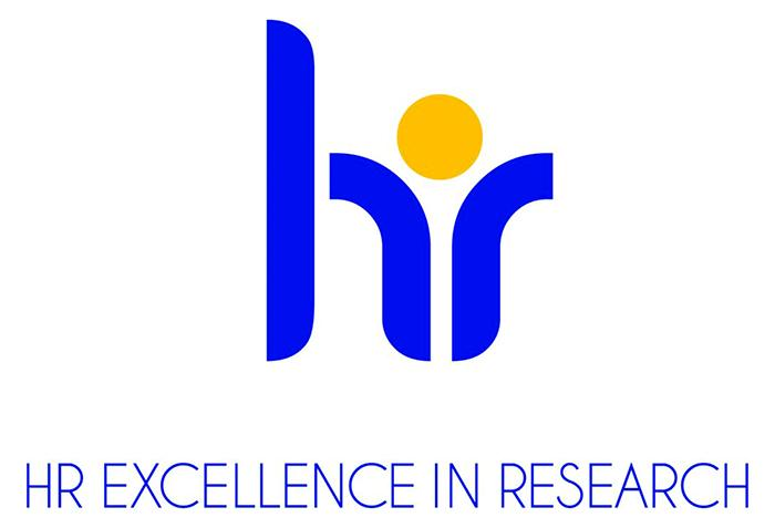 logotipo HR Excellence in research