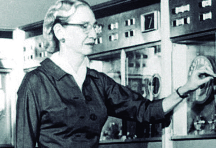 Fotografia de GRACE MURRAY HOPPER