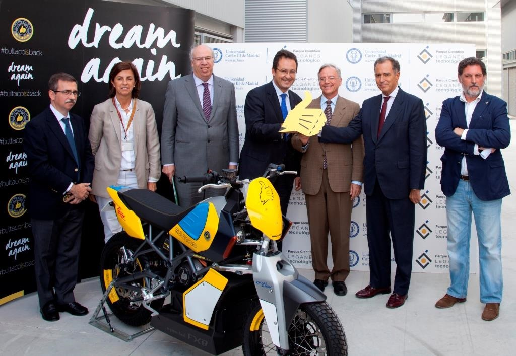 The new Bultaco, created from a business project that was born from an idea supported by UC3M Business Incubator UC3M Science Park