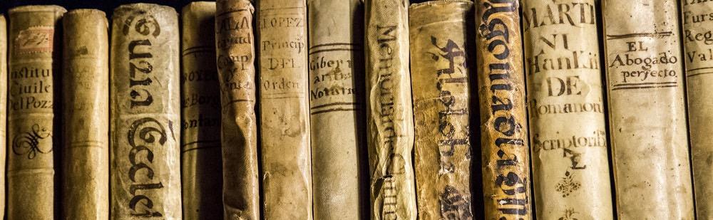 Fondo antiguo en bibliotecas