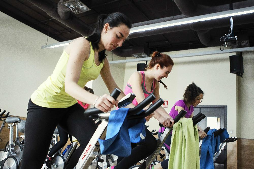 Clase de spinning