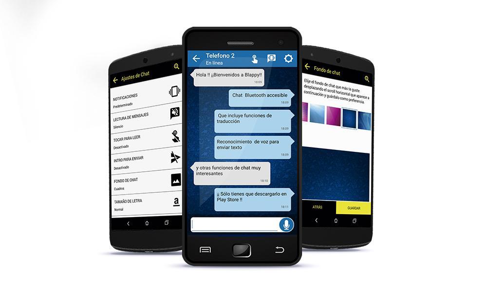 Blappy, una nueva app de chat por bluetooth para personas con discapacidad sensorial