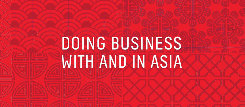 Curso Doing Business with and in Asia