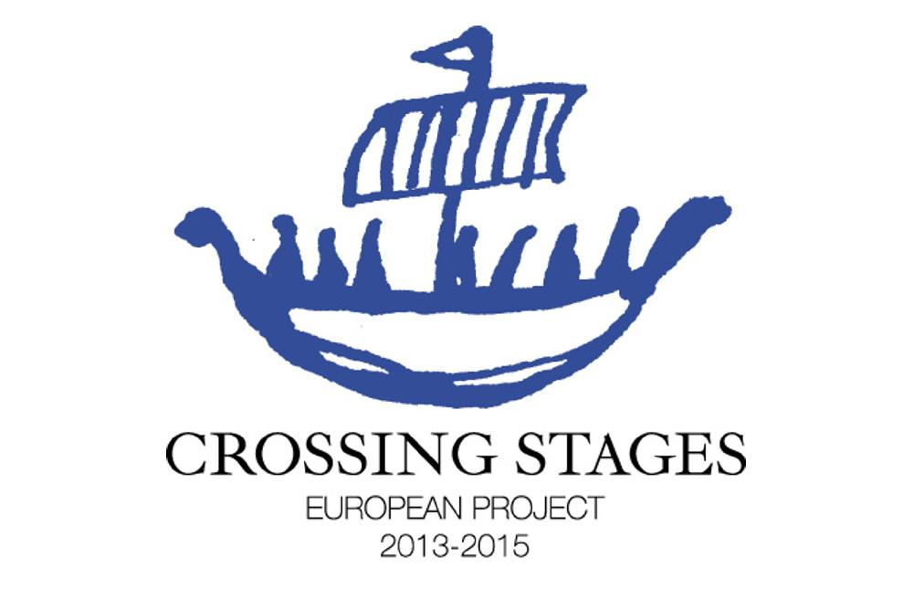 Logotipo del proyecto Crossing Stages