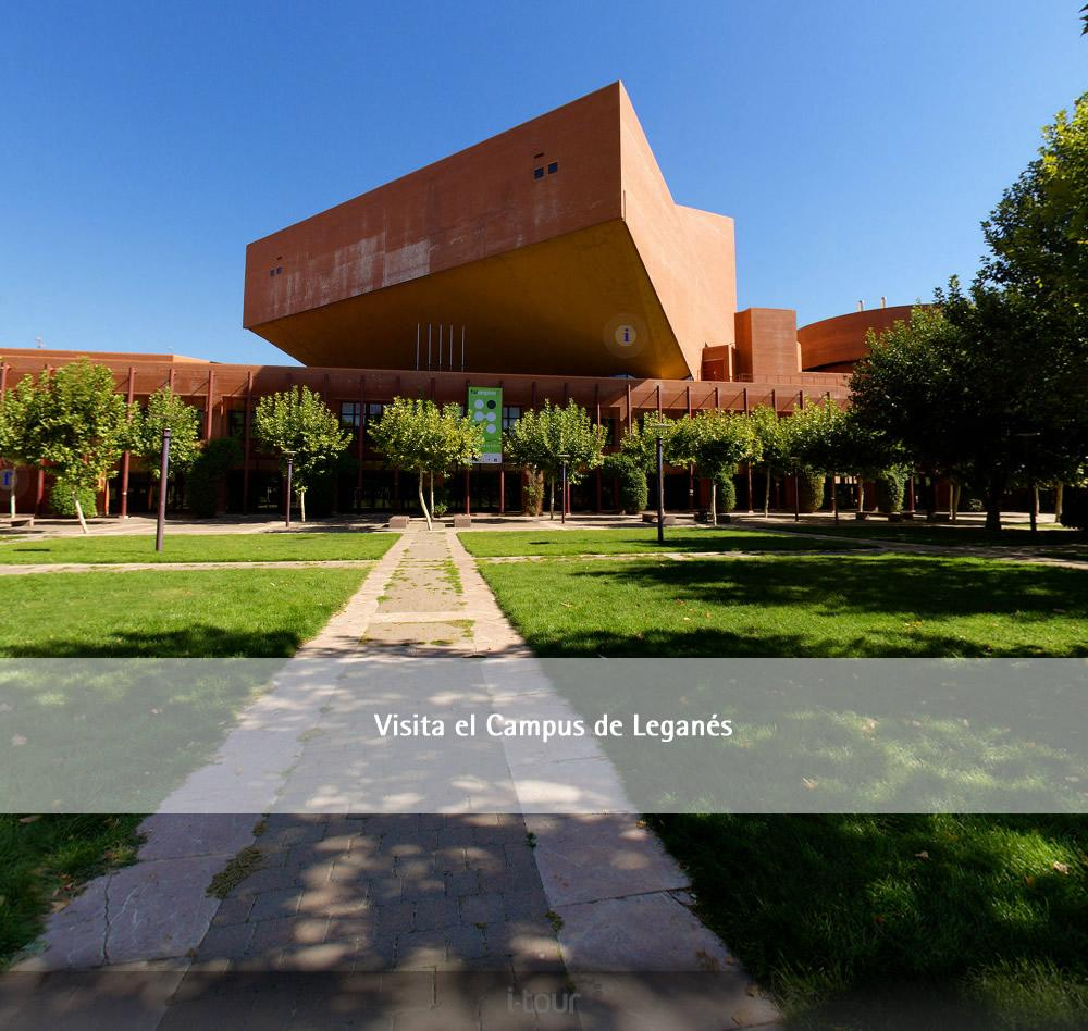 Visita Virtual Campus de Leganés UC3M