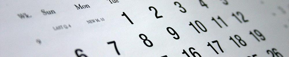 Calendario Uc3m.Direct Debit Calendar Uc3m