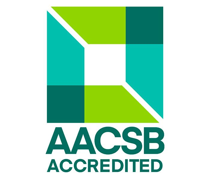 logotipo AACSB Accredited