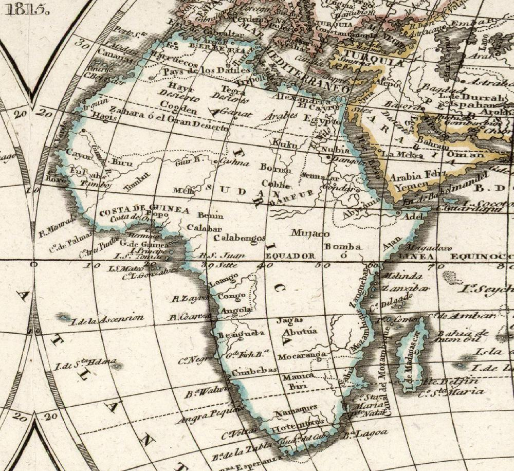 Map Of Africa 1800.Africa Uc3m