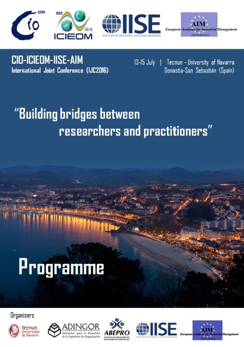 Cartel del Congreso Building bridges between researchers and practitioners