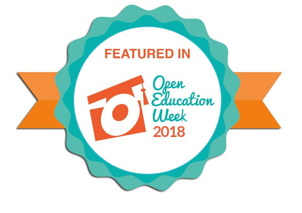 featured in open education week 2018