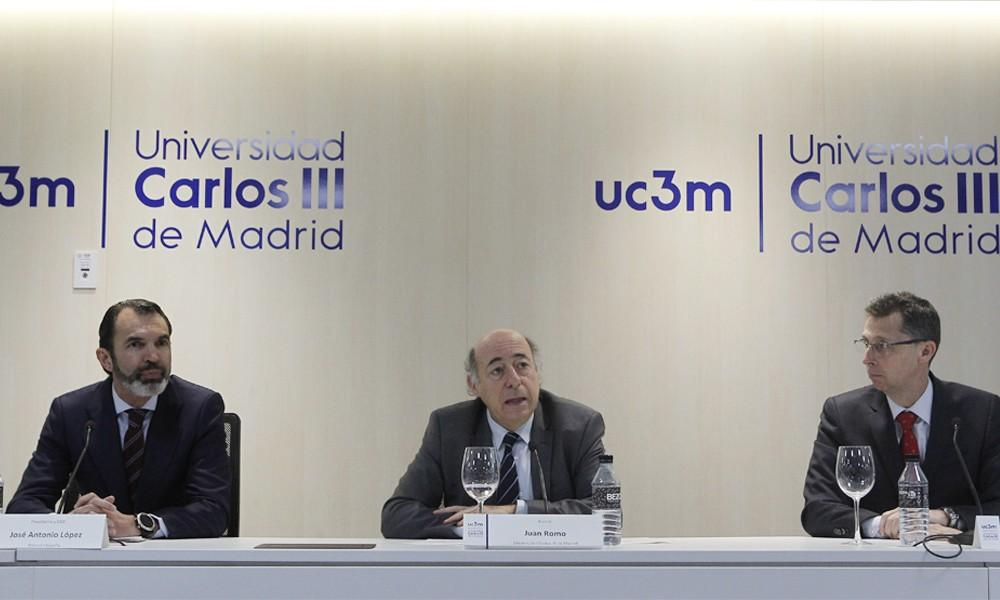 UC3M and Ericsson present the first Master's in 5G in Spain | UC3M