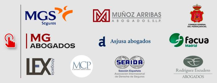 Logos of collaborator companies of the master