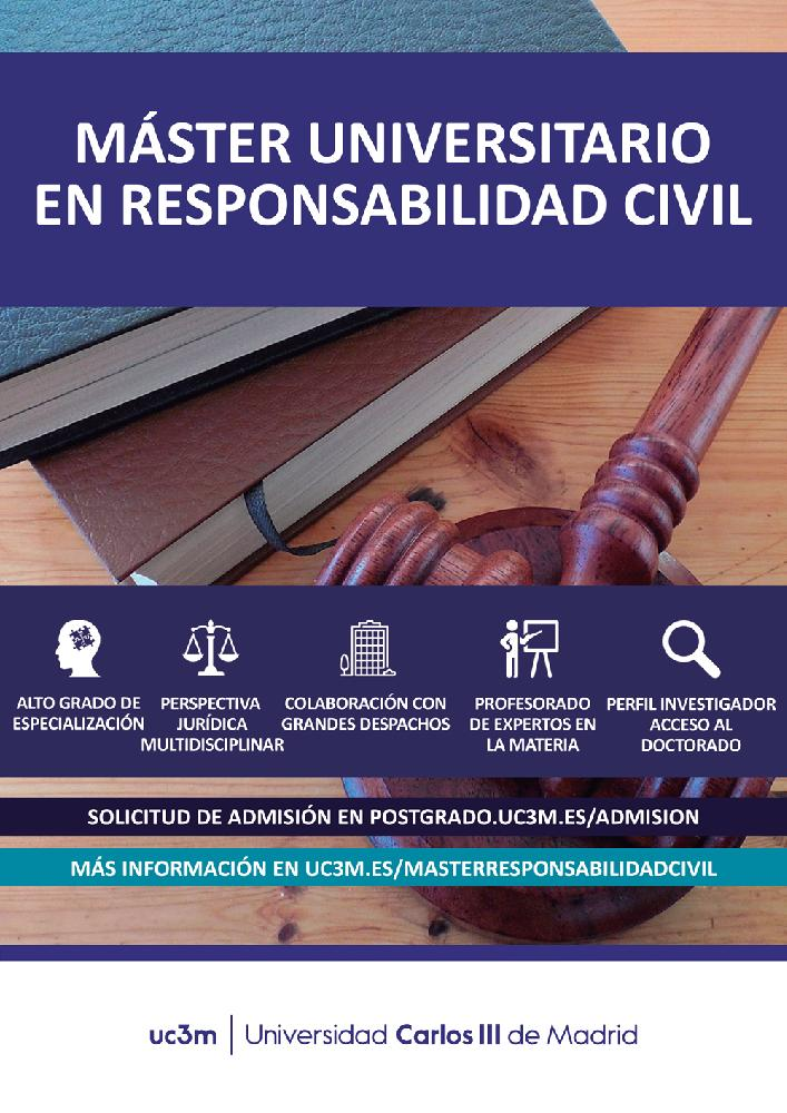 Máster Universitario en Responsabilidad Civil