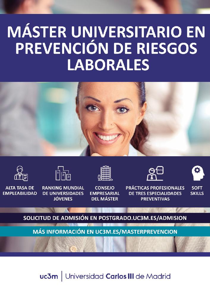 Master in Occupational Risk Prevention