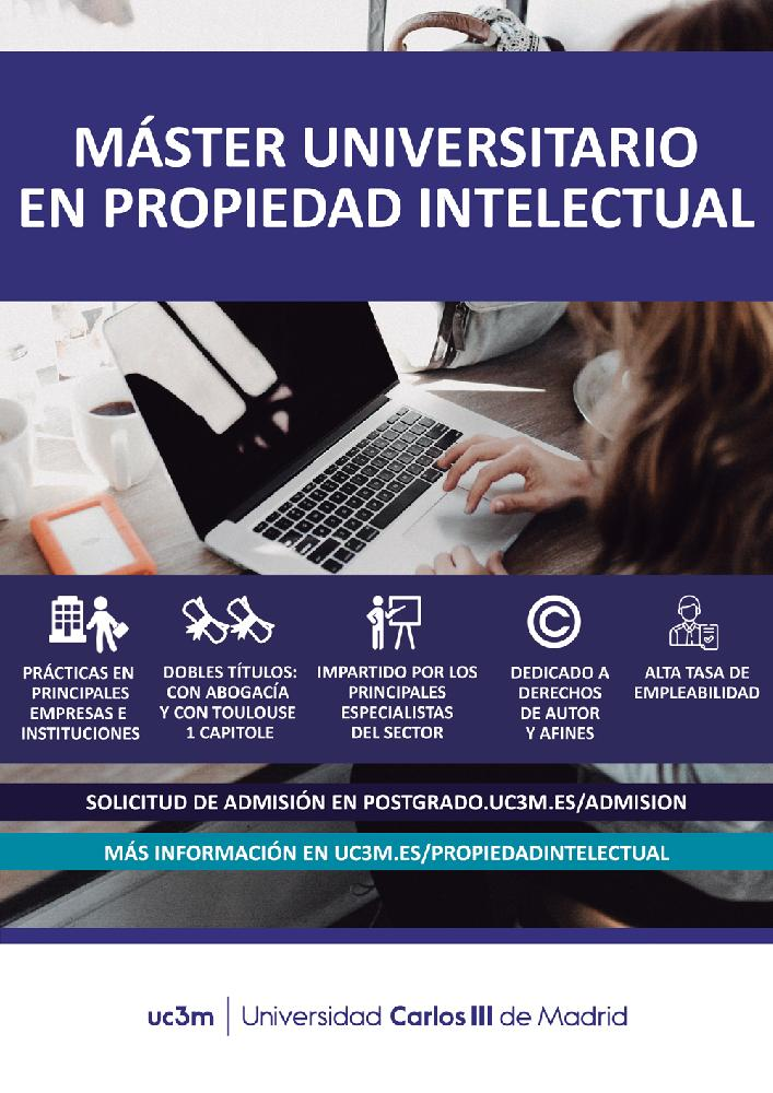 Master in Intellectual Property