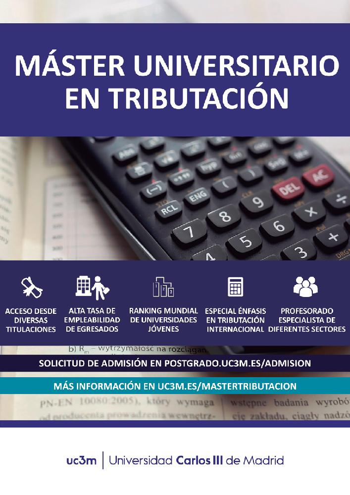 Master in Taxation