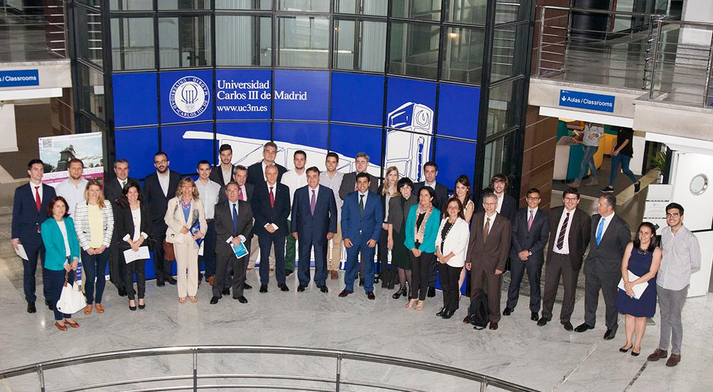Closing ceremony of the Master in Industrial Economics and Markets. June 16, 2015.