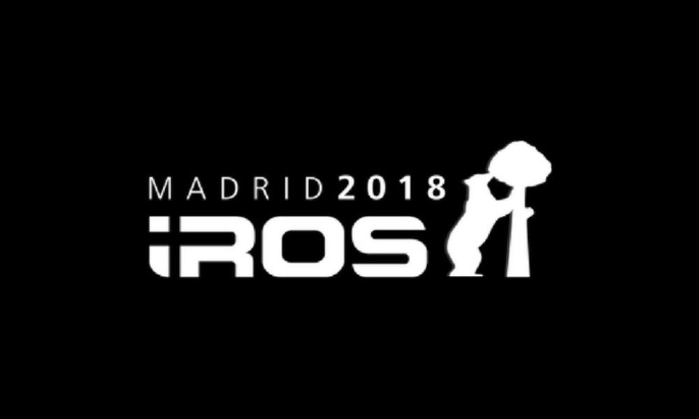 LogotipO IROS 2018, Madrid.