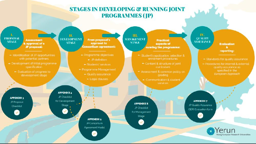 Stage in developing Joint Programmes