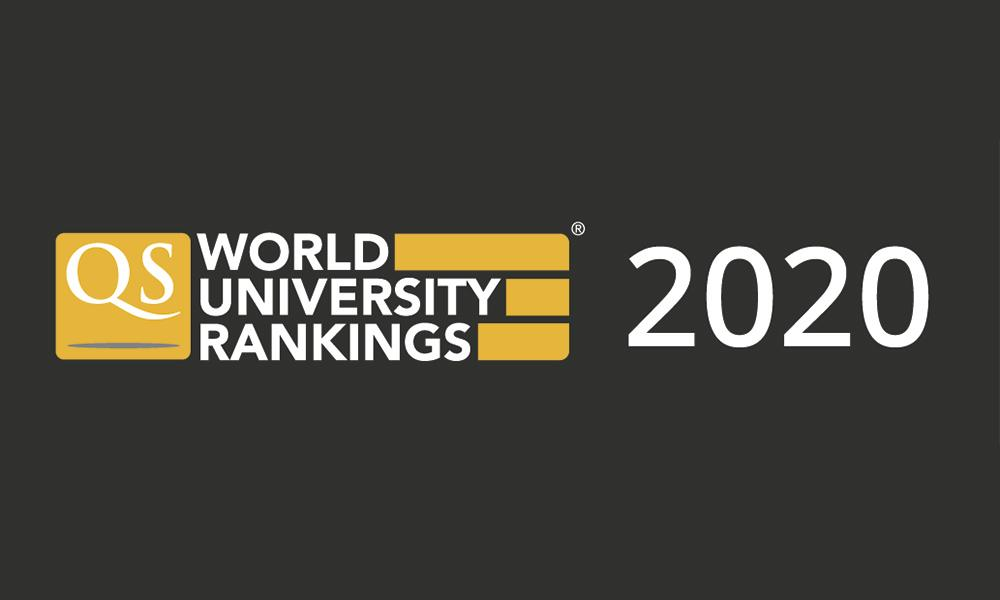 Logo del QS World University Rankings 2020