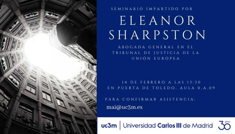 Seminar by Eleanor Sharpston, General Advocate of the General Court of the EU.
